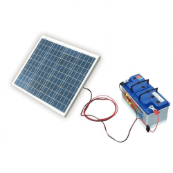 SOLAR Solární nabíječka autobaterií 50W/12V