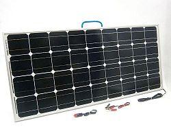 SOLAR Solární nabíječka autobaterií SO106 100W/12V