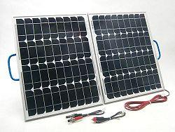 SOLAR Solární nabíječka autobaterií SO108 60W/12V skladací