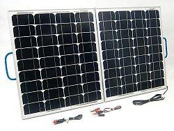 SOLAR Solární nabíječka autobaterií SO110 100W/12V skladací