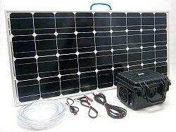 SOLAR Solární provzdušňovač pro jezírka SO115 100W 80l/min