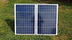 SOLAR Solární skládatelný panel polykrystalický 12V 80W 4,34A s USB