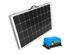 SOLAR Solární skládatelný panel polykrystalický 200Wp 15A MPPT s Bluetooth