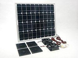 SOLAR Solární větrací systém STANDARD SO14 460m3/h s výkonem 50W
