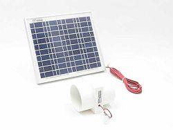 SOLAR Solární větrací systém STANDARD SO194 55m3/h s výkonem 10W - vestavný