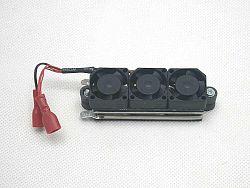 SOLAR Teplovzdušný ventilátor PTC TF60 12V 150W