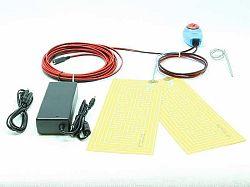 SOLAR Topné těleso s termostatem TF79 12V 72W IP68