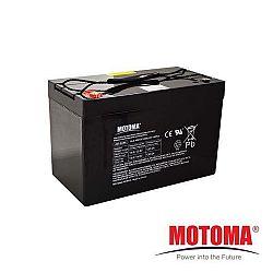 Solární baterie Motoma 12V 100Ah bezúdržbová