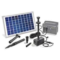 Solární fontána s baterií Esotec NAPOLI LED 101774