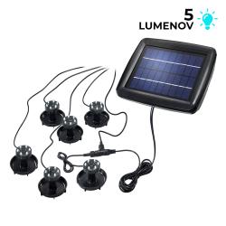 Solární LED podvodní světla Esotec Super Splash 102150 set 6 světel