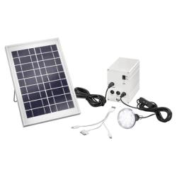 Solární nabíječka a LED svítidlá Esotec 120001 Multipower 5W