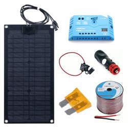 Solární nabíječka Flexi Lensun 20Wp s PWM