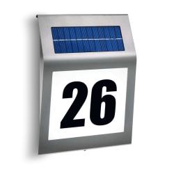 Solární osvětlení čísla domu Esotec Style 102031 studená bílá