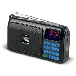 Solární rádio POWERplus Crow s MP3 přehrávačem
