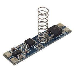 Stmievač dotykový pre LED pásy do AL lišty 10mm 25-50-75-100-OFF
