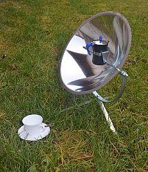 SUN&ICE Solární vařič a dekorační osvětlení CafeSol 2v1