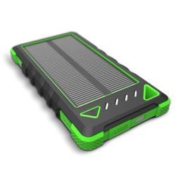 Sunen Solární nabíječka 1W 8000 mAh zelená