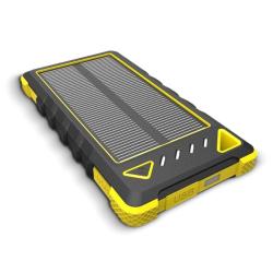 Sunen Solární nabíječka 1W 8000 mAh žlutá
