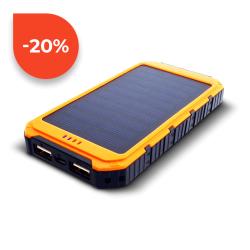 Sunen Solární powerbank 0.8W 6000mAh S6000Y oranžová