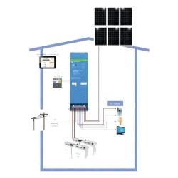 Victron Energy Hybridní solární systém EasySolar 24V 1600VA - 1,5kWp