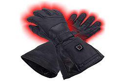 Vyhřívané kožené rukavice Glovii GS5 velikost L