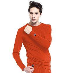 Vyhřívané tričko s dlouhým rukávem Glovii GJ1R velikost S