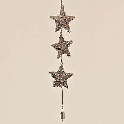 Závěsná dekorace Boltze Star Winter, 60cm